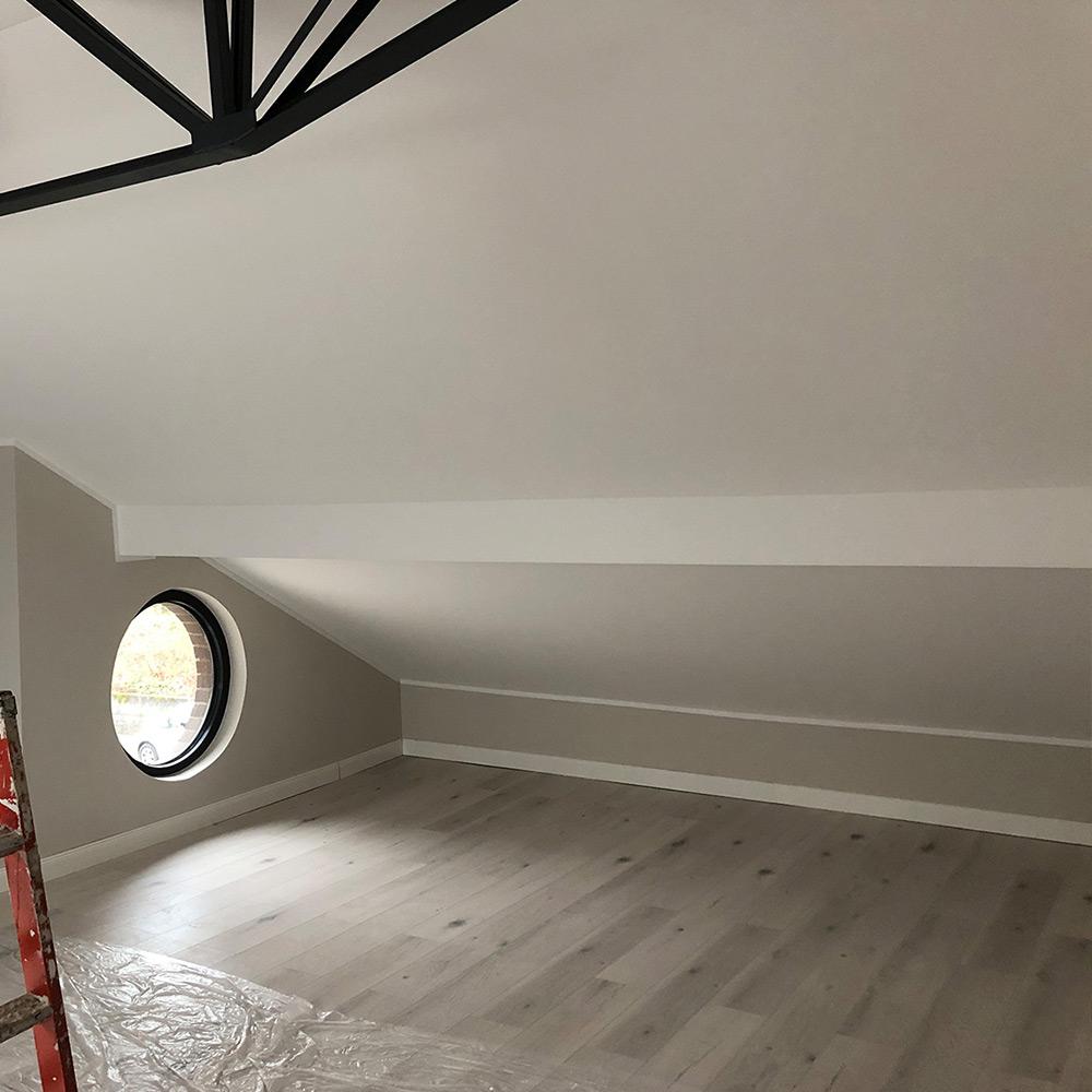Malerarbeiten Dachboden
